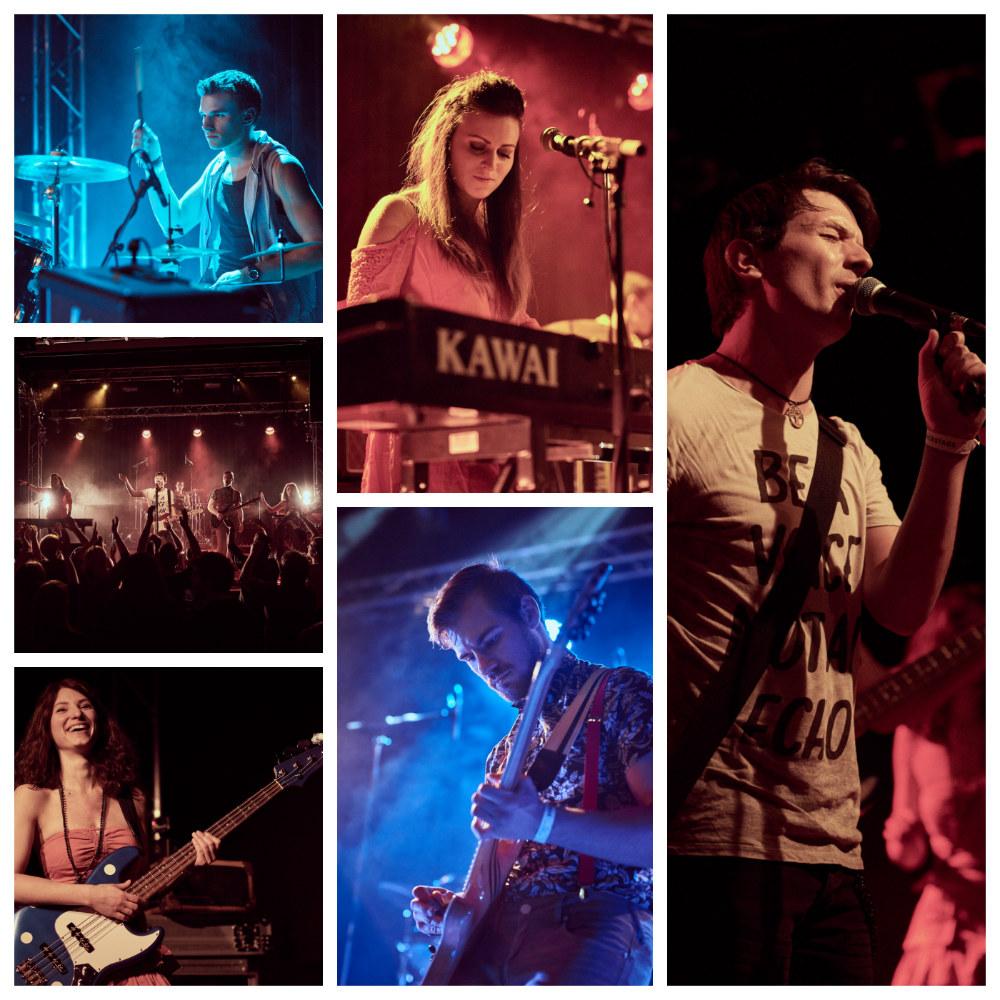 Amon Band Collage - Copyright Klaus Engelmayer