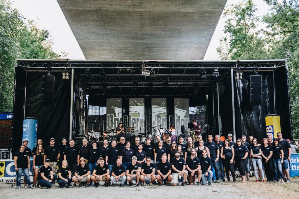 Under the Bridge Festival 2018 - Team - Emmersdorf - 005